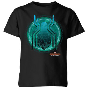 Spider-Man Far From Home Stealth Globe Kids' T-Shirt - Black