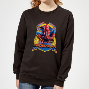 Spider-Man Far From Home Jump Women's Sweatshirt - Black