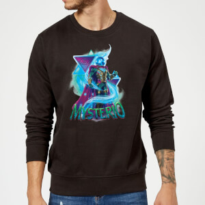 Spider-Man Far From Home Mysterio Energy Triangles Sweatshirt - Black