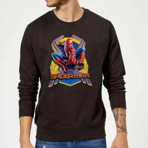 Spider-Man Far From Home Jump Sweatshirt - Black