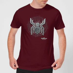 Spider-Man: Far From Home Web Icon t-shirt - Wijnrood