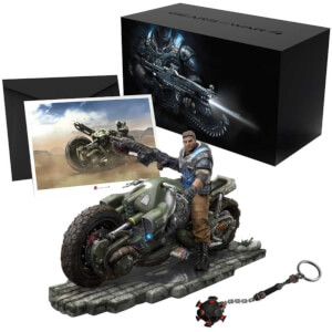 Gears of War 4 Collector's Edition - JD Fenix on COG Bike Premium Statue - 28cm