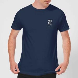 Dazza Pocket Text Men's T-Shirt - Navy