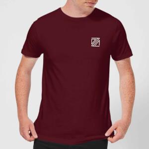 Dazza Pocket Men's T-Shirt - Burgundy