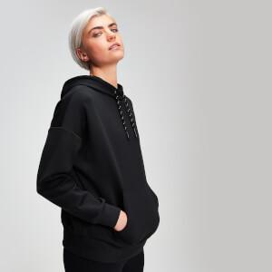 MP Rest Day Women's Pullover Hoodie - Black