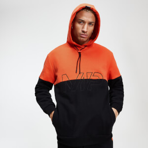 Rest Day Men's Split Overhead Hoodie - Spark