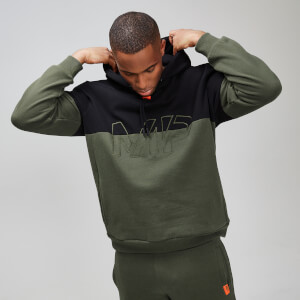 MP Rest Day Men's Split Overhead Hoodie - Army Green