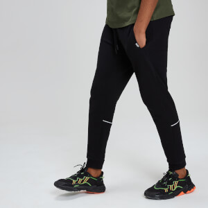 Rest Day Piped Joggers - Black