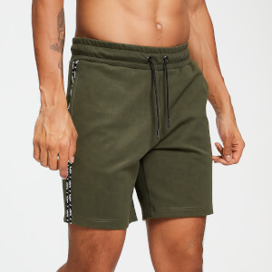 Rest Day Double Tape Tricot Shorts - Army Green