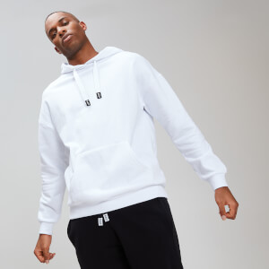 MP Rest Day Men's Stripe Overhead Hoodie - White