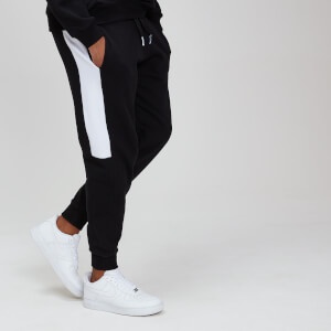 Miesten MP Rest Day Stripe Joggers - Musta