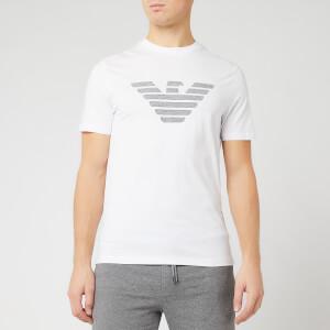 Emporio Armani Men's Sewn Eagle T-Shirt - White