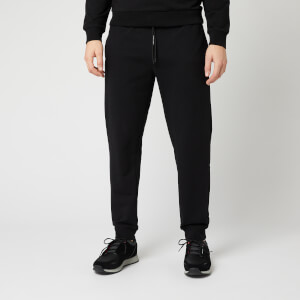 Emporio Armani Men's Basic Cuffed Sweatpants - Black