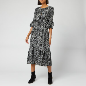 MICHAEL MICHAEL KORS Women's Mega Cheeta Dress - Gunmetal