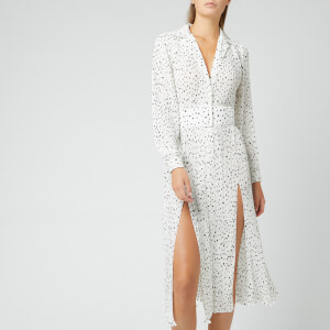 ROTATE Birger Christensen Women's Number 10 Dress - Bright White