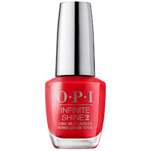OPI Scotland Limited Edition Infinite Shine 3 Step Nail Polish - Red Heads Ahead 15ml