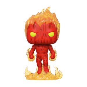 Marvel Fantastic Four Human Torch Pop! Vinyl Figure