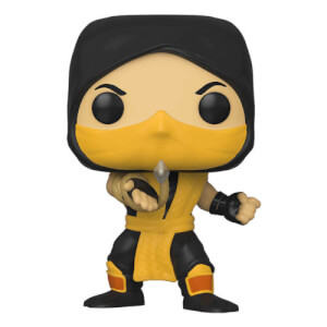 Mortal Kombat - Scorpion Figura Pop! Vinyl