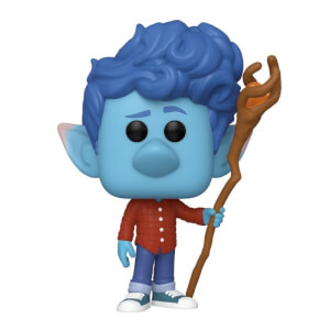 Figura Funko Pop! - Ian Con Bastón - Disney: Onward