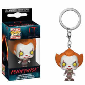 IT Chapter Two Pennywise with Open Arms Pocket Pop! Portachiavi