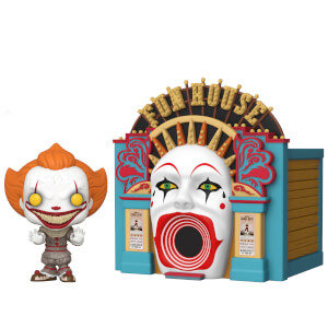 IT 2 Demonic Pennywise with Funhouse Funko Pop! Town