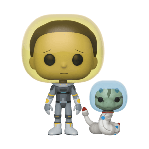 Rick and Morty - Morty Con Tuta Spaziale e Serpente Figura Funko Pop! Vinyl
