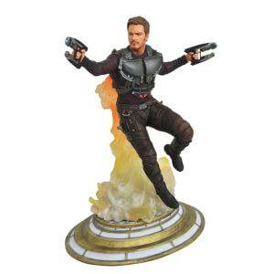 Diamond Select Guardians of the Galaxy Marvel Gallery Maskless Star-Lord Statue