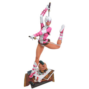 Diamond Select Marvel Premier Collection Gwenpool Statue