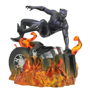 Diamond Select Marvel Gallery Black Panther Movie Version 2 Statue