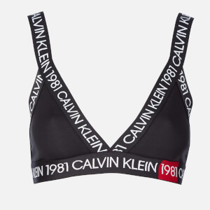 Calvin Klein Women's 1981 Unlined Bralette - Black