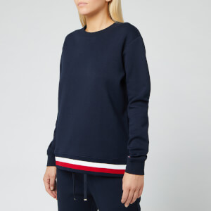 Tommy Hilfiger Women's Kitty Crewneck Long Sleeve Sweatshirt - Sky Captain