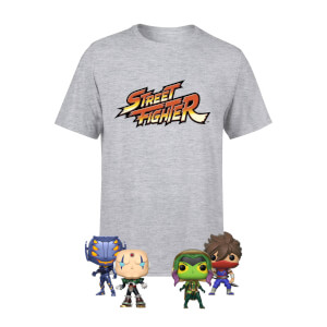 Pack Camiseta Marvel vs Capcom - Equipo Capcom