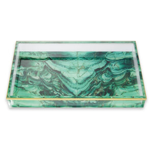 Spectrum Collections Malachite Tray
