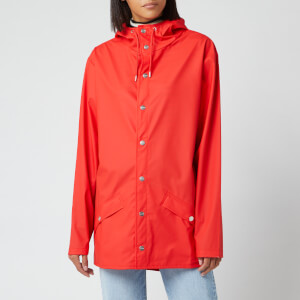 RAINS Women's Jacket - Red