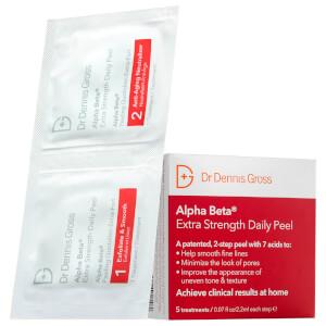 Dr. Dennis Gross Skincare Alpha Beta Extra Strength 3 App Peel (Free Gift)