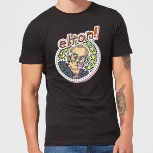 Elton John Star Men's T-Shirt - Black