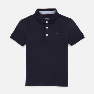 Tommy Hilfiger Boys' Short Sleeve Polo Shirt - Sky Captain
