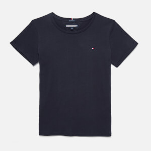 Tommy Hilfiger Girls' Basic Short Sleeve T-Shirt - Sky Captain