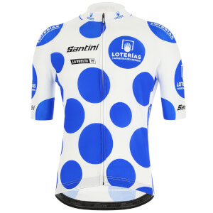Santini La Vuelta 19 Kind Of The Mountains Jersey