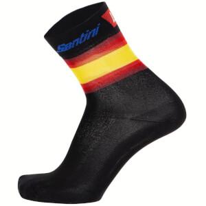 Santini La Vuelta 19 Kilometro Cero Socks