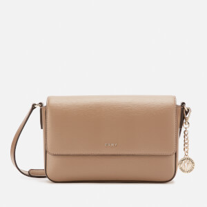 DKNY Women's Bryant Medium Flap Sutton Cross Body Bag - Dune