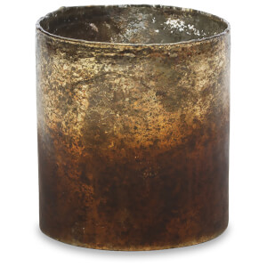 Nkuku Morri Tealight Holder - Small - Gold
