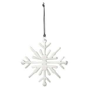 Broste Copenhagen Snowflake Christmas Decoration - Silver