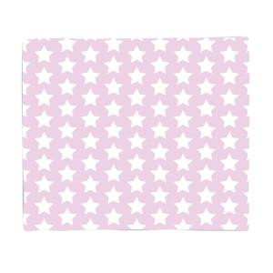 Pink Stars Fleece Blanket