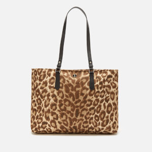 Kate Spade New York Women's Taylor Leopard Large Tote Bag - Natural Multi