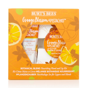 Botanical Blend Nourishing Hand and Lip Kit - Orange Blossom & Pistachio