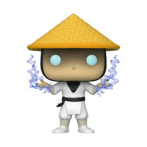 Mortal Kombat Raiden with Fire EXC Pop! Vinyl Figure