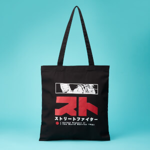 Street Fighter Arcade Ryu Tote Bag - Black