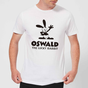 Disney Oswald The Lucky Rabbit Men's T-Shirt - White