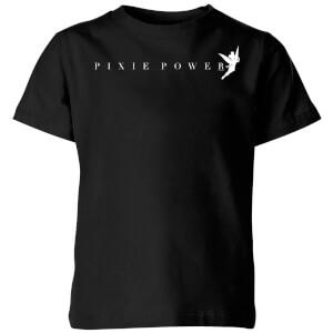 Disney Peter Pan Tinkerbell Pixie Power Kids' T-Shirt - Black